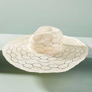 Anthropologie Wyeth Jetty Rancher Straw hat